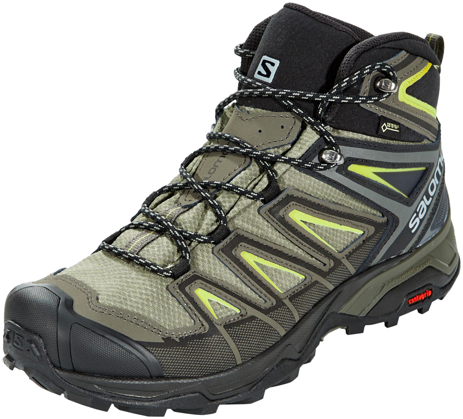 salomon x ultra 3 mid gtx castor gray 22